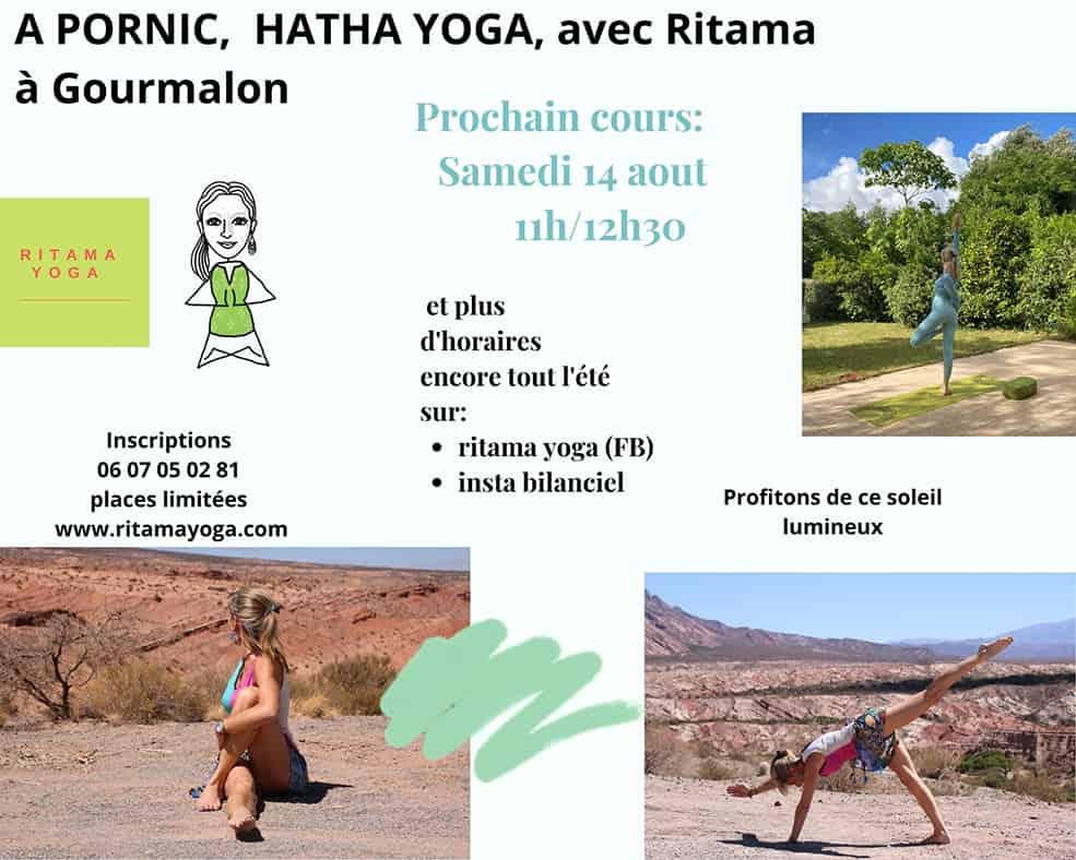 Cours de Yoga à Gourmalon