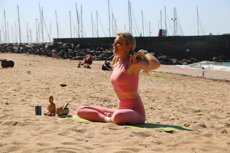Yoga plage de Pornic - Ritama