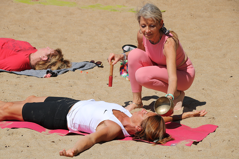 Yoga plage de Pornic- Ritama