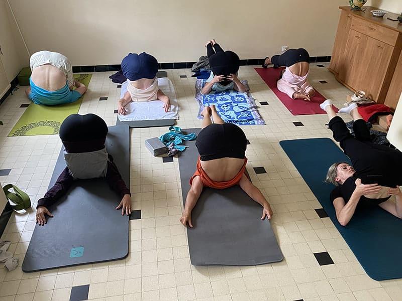 Yoga à Pornic, 26 juin 2021
