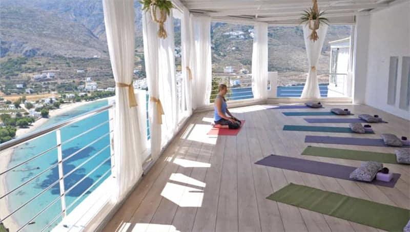 Stage de Yoga en Grèce avec Ritama