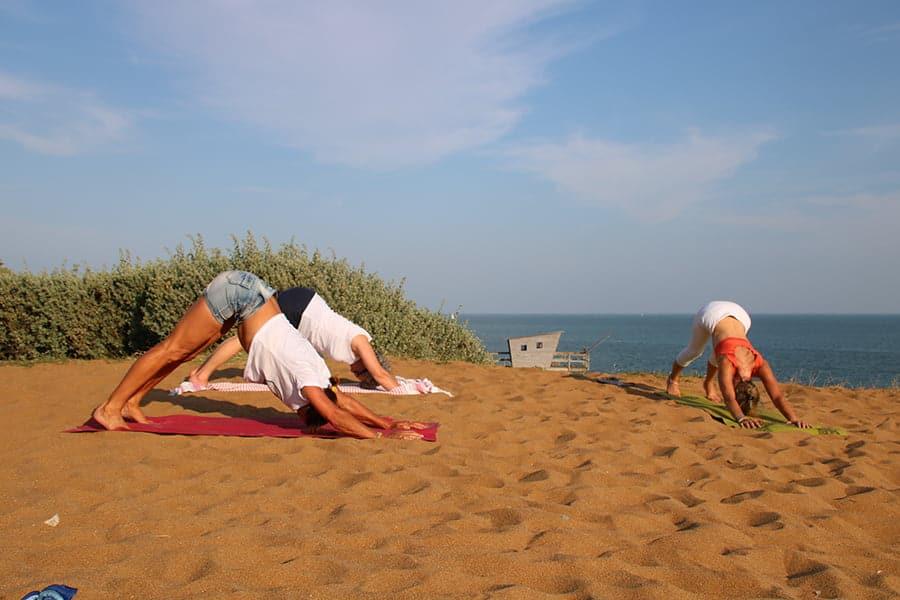 Cours de yoga à Pornic